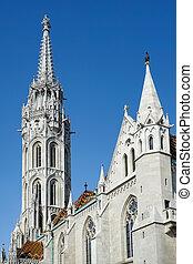 église, budapest, matthias