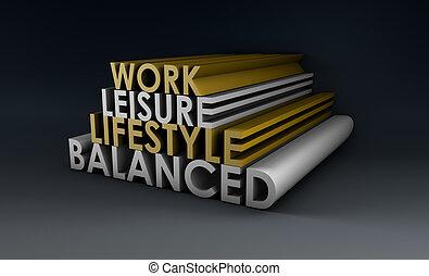 équilibré, style de vie