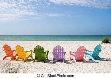 été, vacances plage