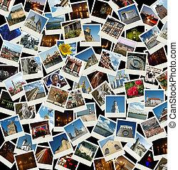 -, voyage, aller, fond, repères, européen, photos, europe
