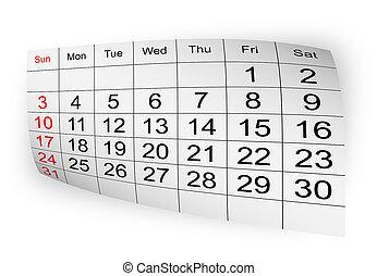2010, calendrier, janvier