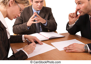 3, réunion, business