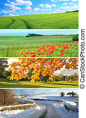 4, saisons, collection