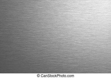 acier, sans tache, fond, texture