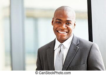 américain africain, cadre affaires