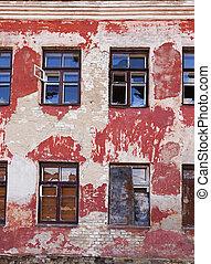 ancien, bâtiment