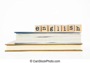 anglaise, rédaction, livres