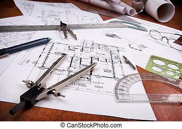architecte, outils
