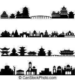 architecture, asie