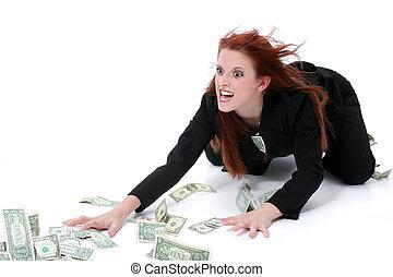 argent, affaires femme