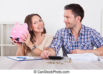 argent, couple, économie