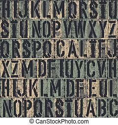 arrière-plan., letterpress, vecteur, seamless, eps8