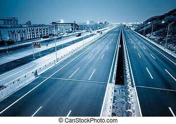 autoroute, propre