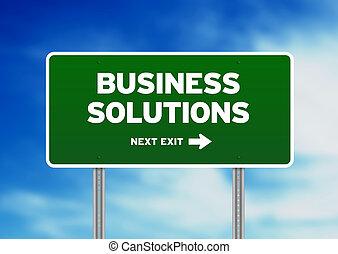 autoroute, solutions, signe, business