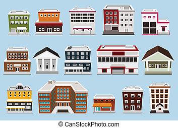 bâtiment, collection