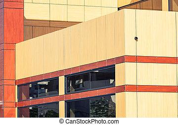bâtiment extérieur, bureau