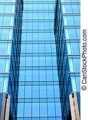 bâtiment, moderne, détail