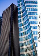 bâtiments, bureau, district