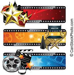 bannières, cinéma