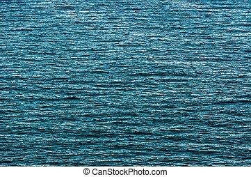 beau, bleu, surface, eau, texture, fond