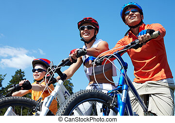 bicycles, famille