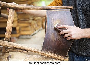 bois, restauration, meubles