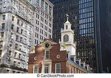 boston, massacre, site