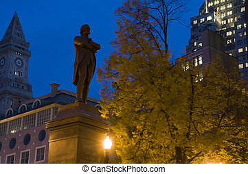boston, nuit