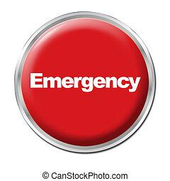 bouton, urgence