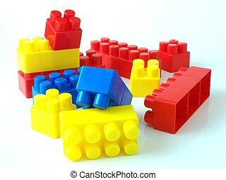 briques, jouet plastique, bricksplastic