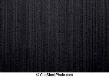 brossé, noir, aluminium
