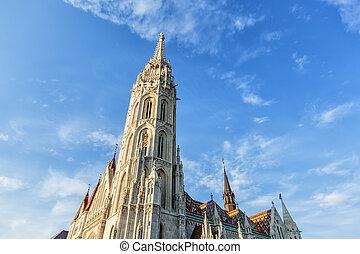 budapest, église matthias