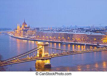 budapest, hongrie, cityscape