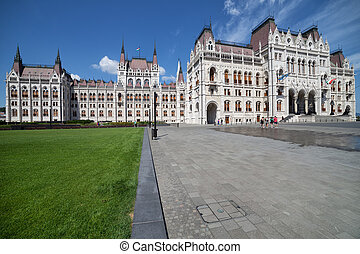 budapest, parlement, hongrois