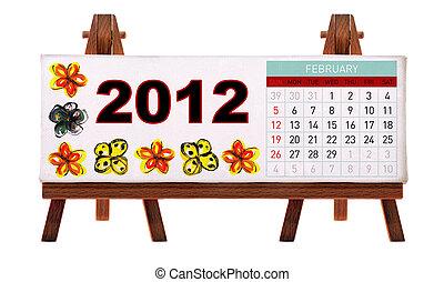 bureau, 2012, calendrier
