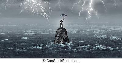 business, parapluie