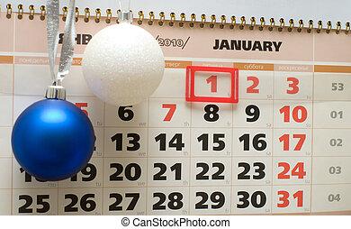 calendrier, 2010., janvier