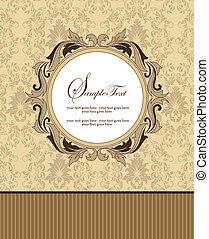 carte, invitation