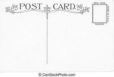carte postale, vendange