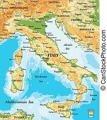 carte soulagement, italie