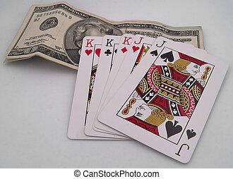 cartes, argent