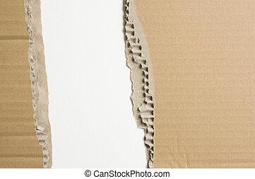 carton, lambeaux