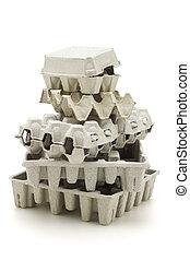 carton papier, recyclé