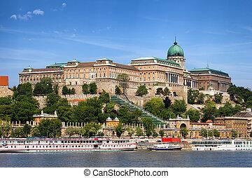 château, budapest, buda