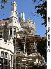château, restauration