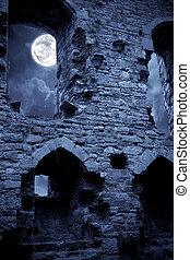 château, spooky