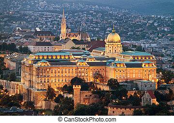 cityscape, budapest, hongrie