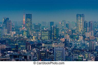 cityscape, tokyo