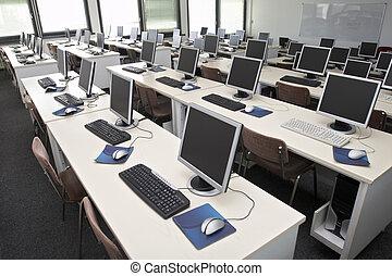 classe, informatique, 4