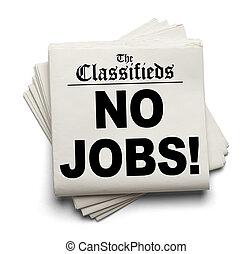 classifieds, travaux, non